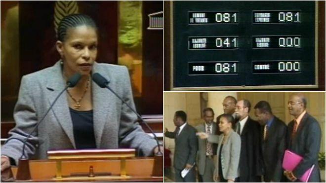 GUYANE GUYANE Archives d'Outre-mer - 18 février 1999 : les députés reconnaissent la traite et l'esclavage crime contre l'humanité