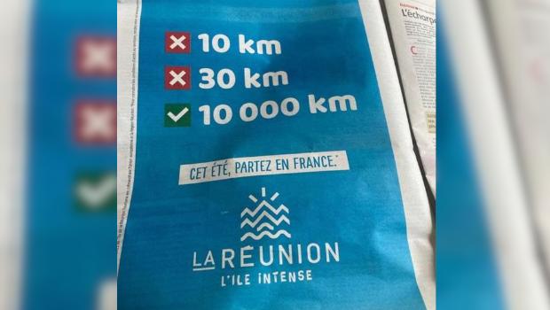 LA REUNION LA REUNION Tourisme : une publicité de l'IRT dans les journaux de métropole fait parler d'elle